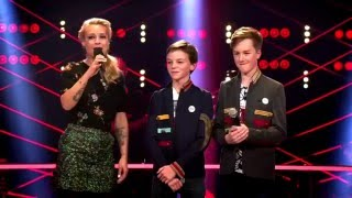 Jens, Anton & Felix - 'Viva La Vida' | Battle | The Voice Kids | VTM