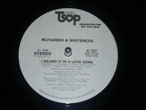 Mc Fadden And Whitehead, I Heard It In A Love Song 1980) HD !