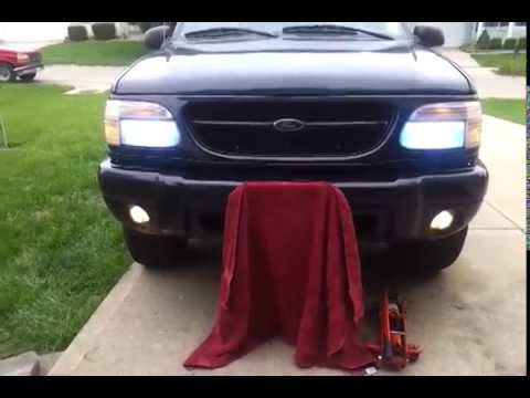 1999 Ford Explorer With Xentec Hid Kit 8000k
