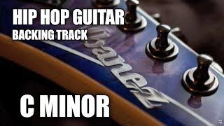 Hip Hop Guitar Backing Track In C Minor