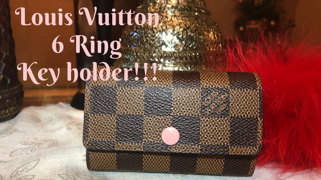 8f0fb571 Louis Vuitton 6 Ring Key Holder Review!!! 2018