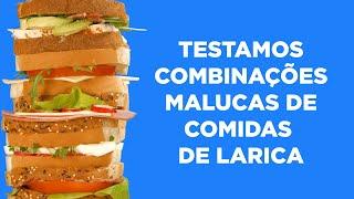 Testamos combinações malucas de comidas de larica - @BuzzFeedBrasil