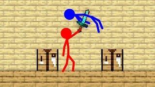 Stickman VS Minecraft: Crafting School - AVM Shorts Animation