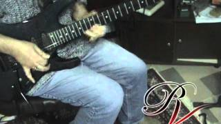 Autograph-Loud And Clear guitar solo performed by Riccardo Vernaccini