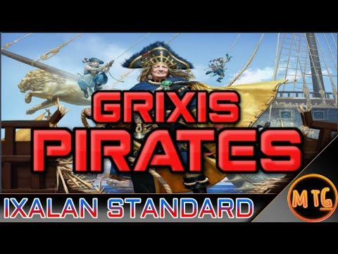 Grixis Pirate Tribal in Ixalan Standard! Competitive Deck Tech!