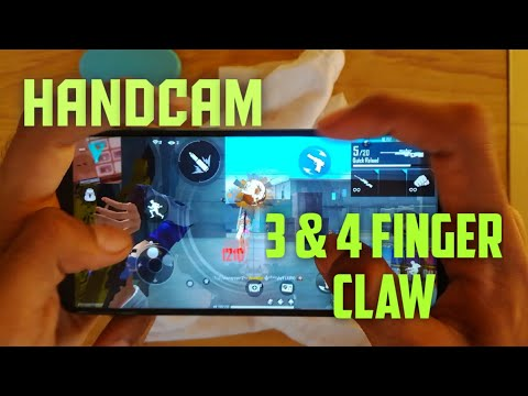 HANDCAM BOLTE 😁😋 |||| 3 & 4 FINGER CLAW |||| GARENA FREE FIRE 🔥 |||| INDIAN FREE FIRE PLAYER