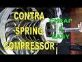 Cheap & Easy CVT Contra Spring Compressor (Clutch, Torque, Main Spring)
