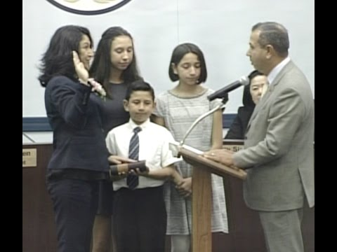 Letty Mendoza Swearing In and Remarks (December 2nd, 2015)