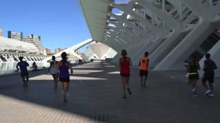 Ready to train. Test Course Navette 2015. Ana Menéndez Coach