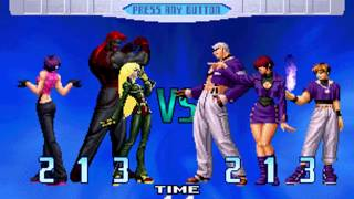 [TAS] The King Of Fighters 10Th Anniversary Unique Plus - Rugal, Vanessa, Evil Kula