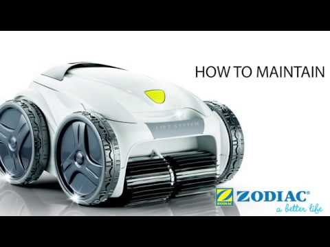 How to maintain your Zodiac VX65 iQ Robotic Pool Cleaner