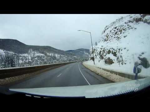 A Drive Through the Rockies