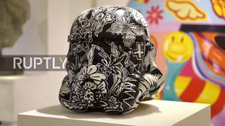 UK  Art Wars! Stormtrooper helmets get artist makeovers