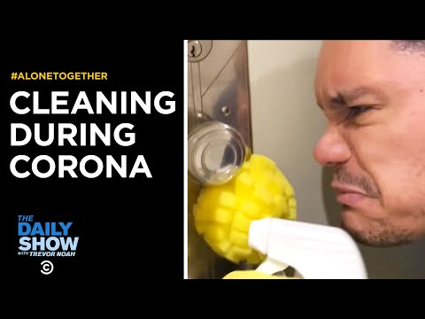Cleaning for Coronavirus | The Daily Show