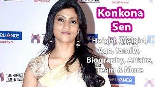 Konkona Sen Sharma Height, Weight, Age, Affairs, Wiki & Facts