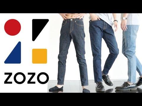 【ZOZO】3500円の完全オーダーのデニムとTシャツ着てみた!本日1本目!