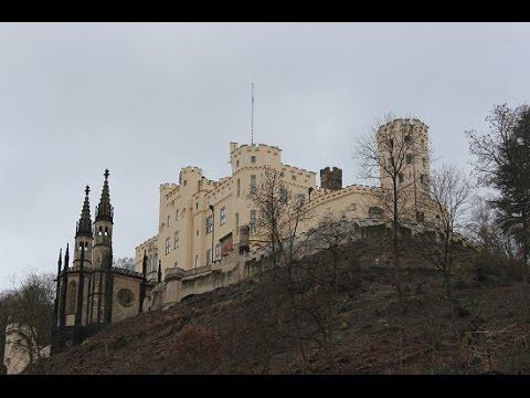 Castle Stolzenfels in Koblenz, Germany