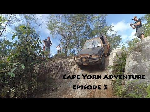 4x4 Cape York Adventure 2016: Episode 3 - Old Telegraph Track South