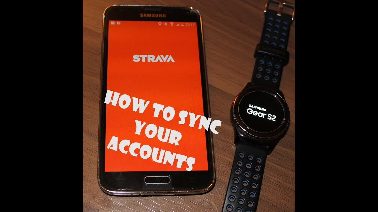 How to link/sync your Strava account with you SHealth activities from  Samsung Galaxy Gear s2
