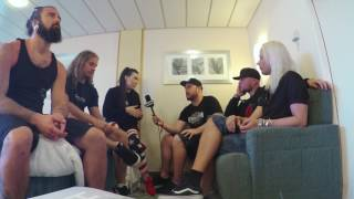 Скачать AMARANTHE Interview On 70 000 Tons Of Metal GEAR GODS