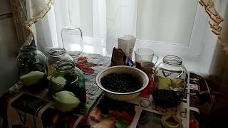 рецепт компота из черноплодной рябины (Аронии) с яблоками