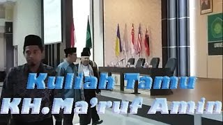 KH.Ma'ruf Amin Di Uin Malang 2017