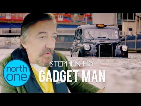 Stephen Fry's amphibious London cab | Gadget Man