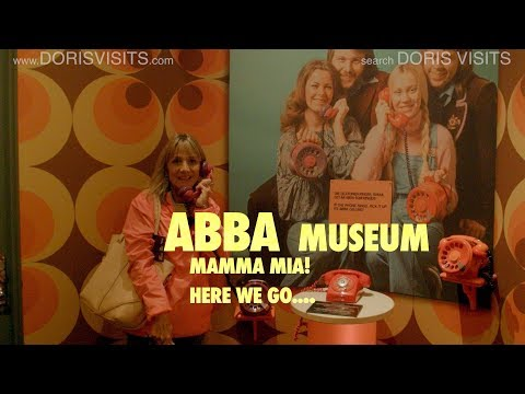 ABBA museum Stockholm - Here we go again on the tour