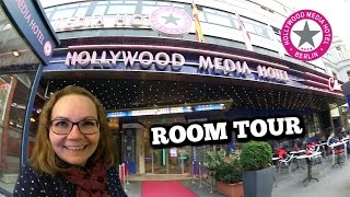 Hollywood Media Hotel Room Tour - Wochenend-Trip nach Berlin + Snow Dome Ausflug