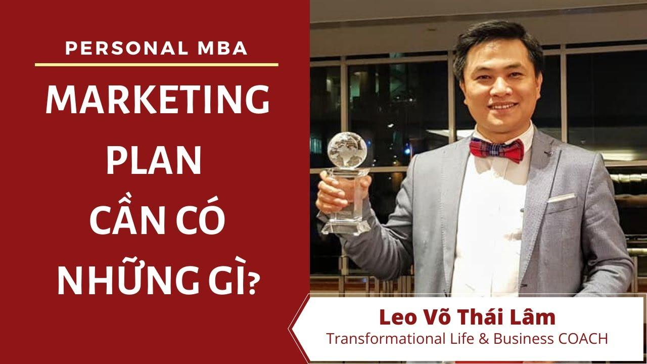 MARKETING PLAN của bạn CẦN phải có những gì?