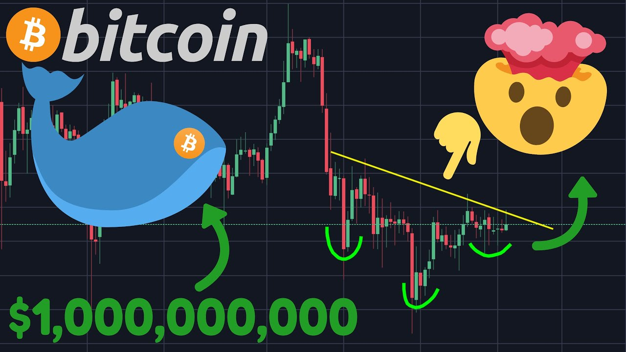 INCREDIBLE BITCOIN CHART SHOWING A HUGE MOVE AND THIS $1,000,000,000 WHALE IS GETTING READY!!!