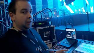 A look at monitors / foldback - Planetshakers 2010