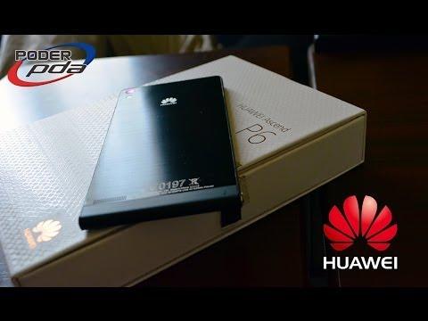 Huawei Ascend P6 - Unboxing en Español HD