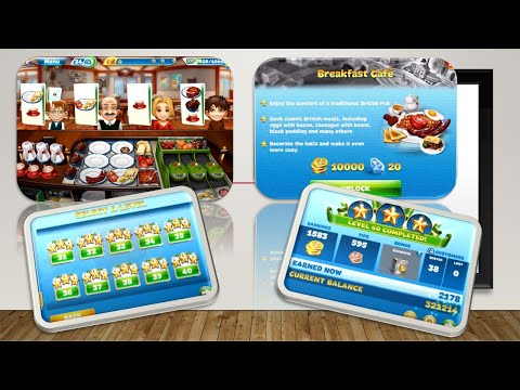 Save Cooking Fever-Breakfast Cafe Level 40 (3stars) Images