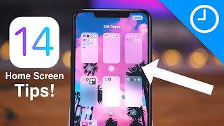 iOS 14: Home Screen TIPS & TRICKS for iPhone!