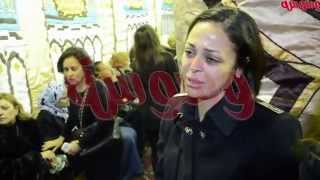 washwasha | وشوشة : دموع داليا البحيري في عزاء طليقها
