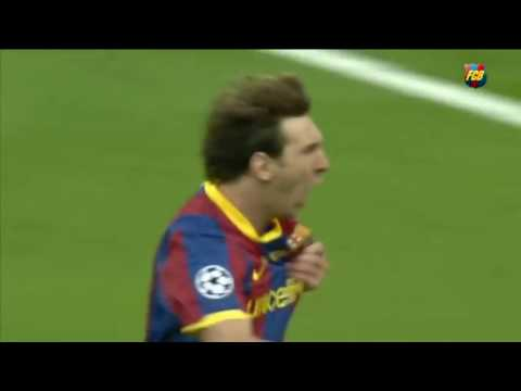 Messi Fantastic goal vs Manchester United (UCL Final 2011) HD