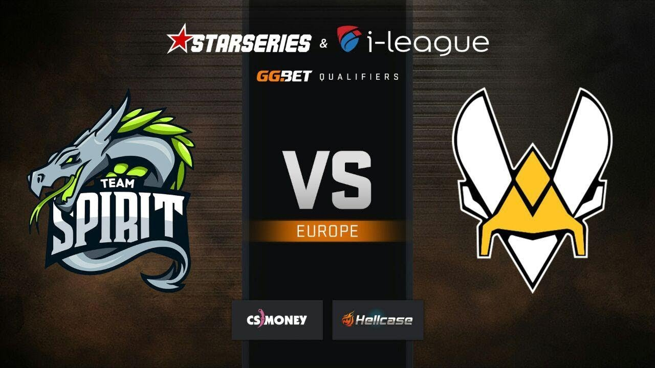 Spirit vs Vitality, map 1 Dust2, StarSeries & i-League S7 GG.Bet EU Qualifier