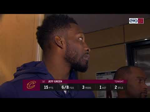 Intimidating opponents isn't Jeff Green's concern | Cavs Live postgame