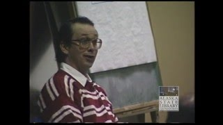 Court Trial Footage of Exxon Valdez Tanker Captain Joe Hazelwood Part 1 (ASL-AV25-33-1)