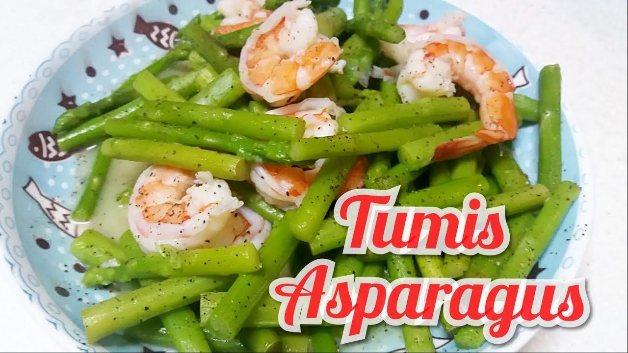 Tumis Asparagus Resep Memasak Tumis Asparagus Youtube