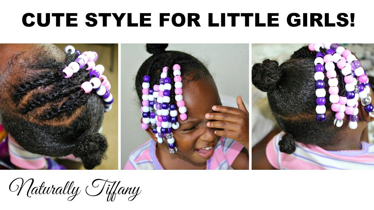 4 Ways To Install Beads Kids Natural Hair Care Youtube