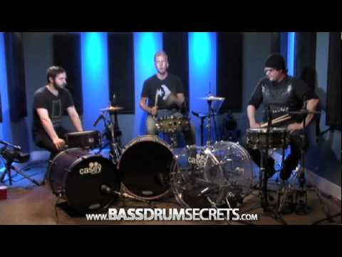 Bass Drum Techniques - Drum Lesson (DRUMEO)