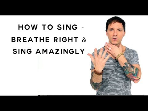 How To Sing – Breathe Right & Sing Amazingly