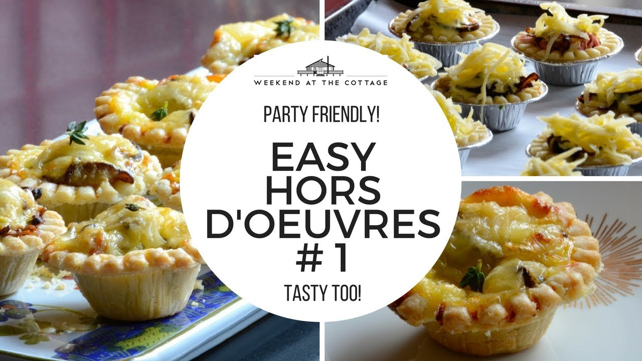 1 Minute Video Easy Hors D Oeuvres 1 Recipe Youtube