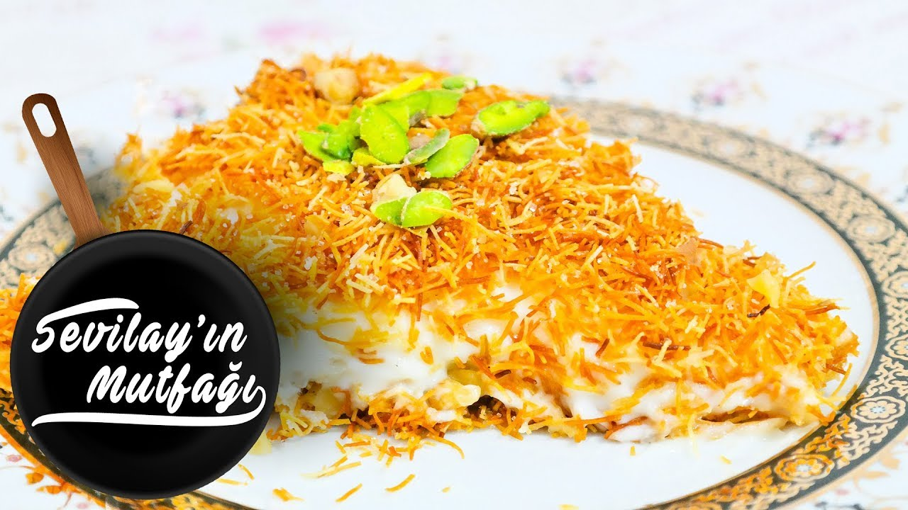 Ramazan Tatlılarından Muhallebili Kadayıf Tarifi