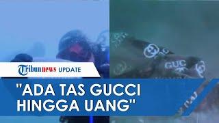 Terlihat Jelas, Begini Suasana Bawah Laut Lokasi Jatuhnya Sriwijaya Air: Ada Tas Gucci hingga Uang