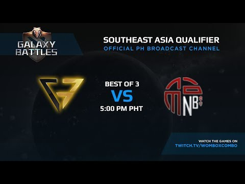 Clutch Gamers vs New Beginning Game 1 (BO3) | Galaxy battles SEA Qualifiers