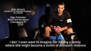"Georgia's ""Sportsmen UNiTE against Violence against Women Campaign"""