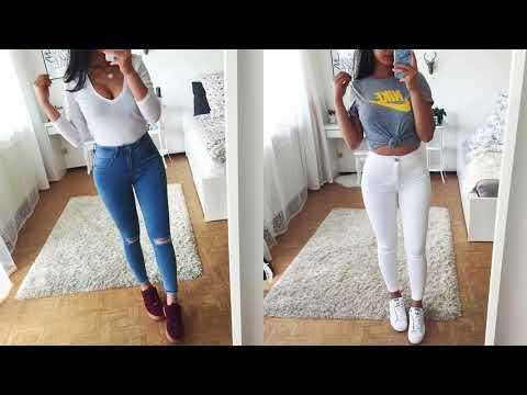 Ide Padu Padan Baju Crop Dan Celana Hw Youtube